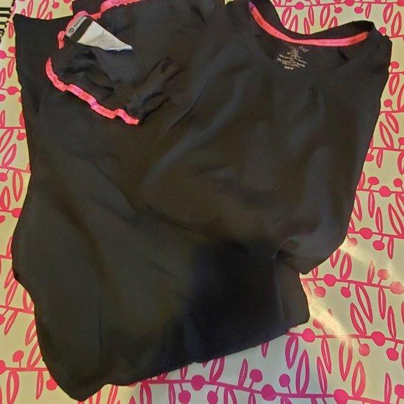KOI LITE Black scrubs set